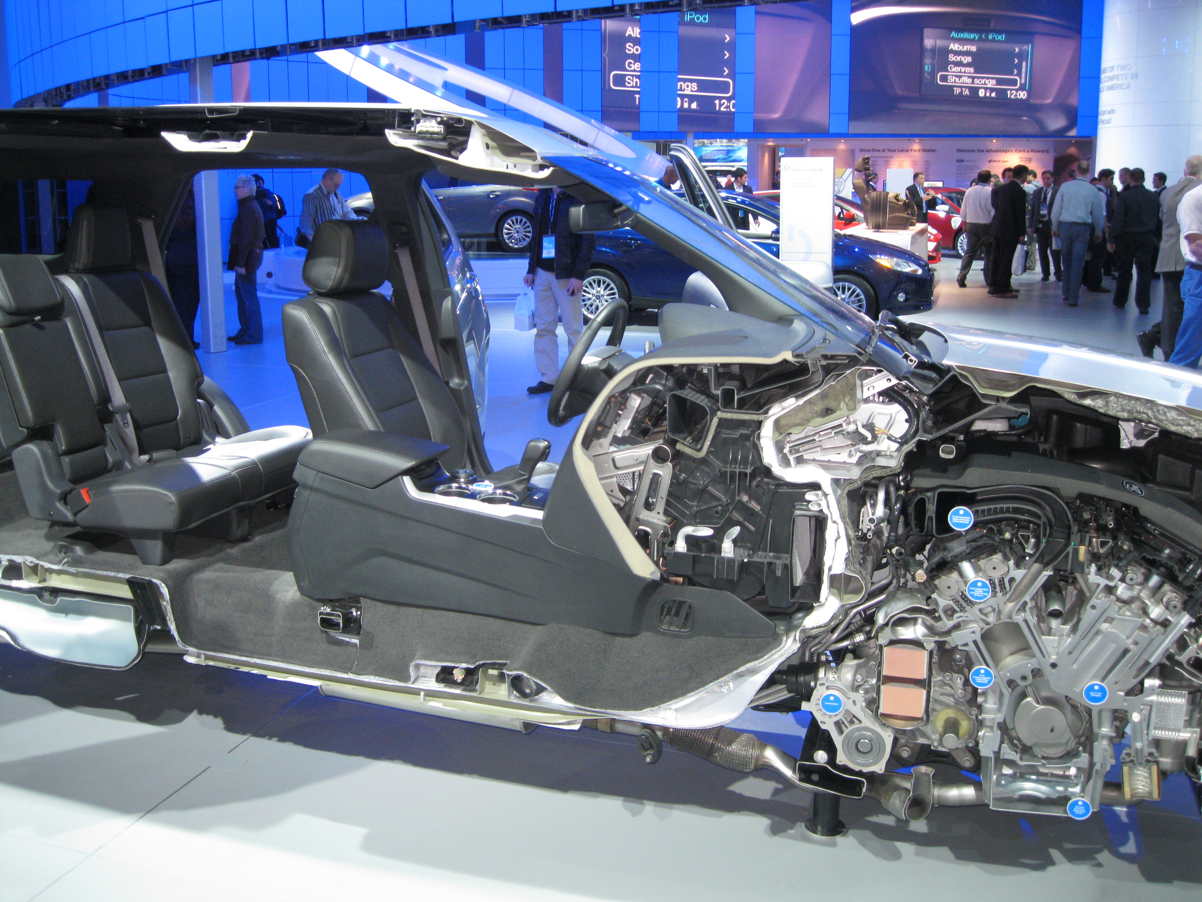 Ford Dealerships In Michigan >> Inside the Detroit Auto Show