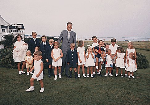 Would nostalgia for jfk help ted kennedy jr the for John kennedy jr kids