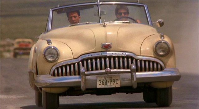 1949 Buick Roadmaster Convertible Car from Rain Man Movie