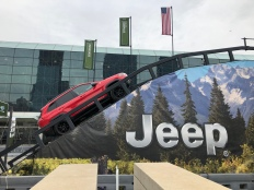 Jeep interactive display